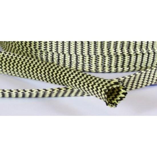 Hybrid Carbon / Kevlar Braided Sleeve | CHEMIFY